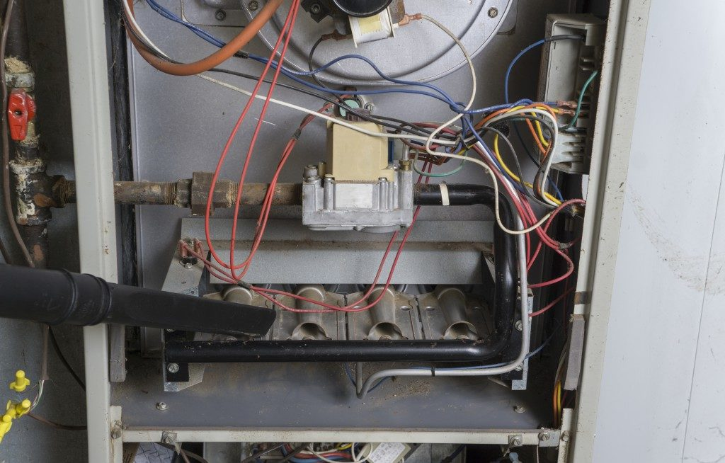 Gas furnace's parts