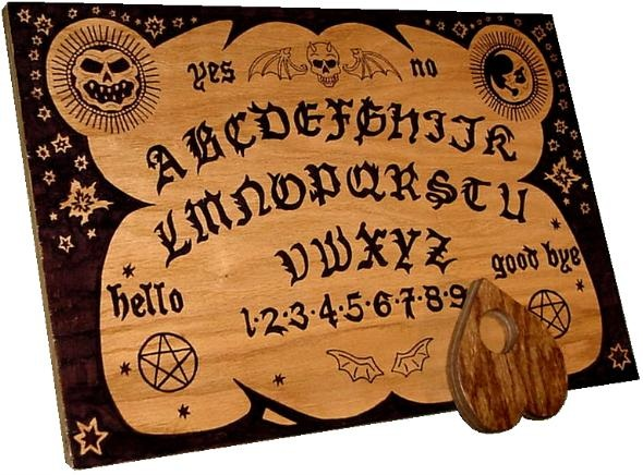 Ouija Boards in Toys R Us