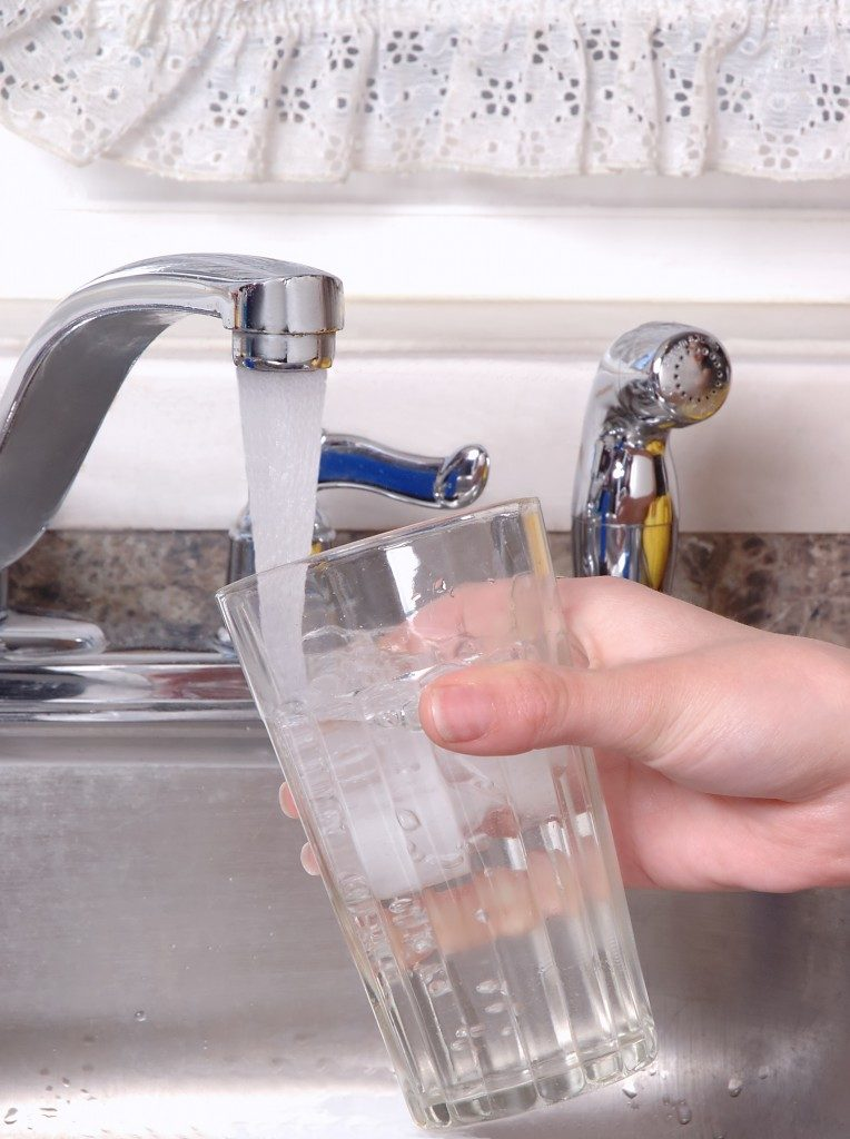 Fresh water from the tap