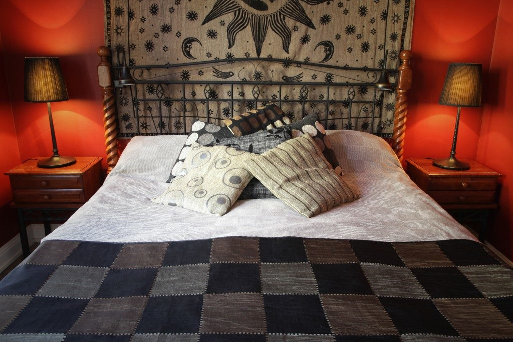 rustic bed sheets