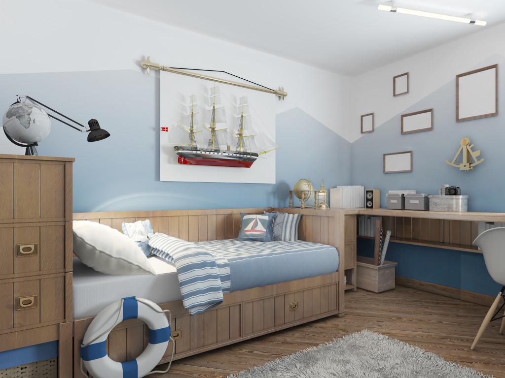 kids bedroom concept