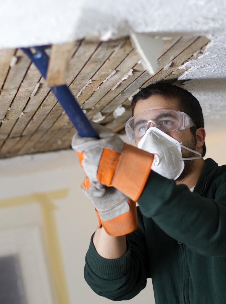 fixing water leak in house