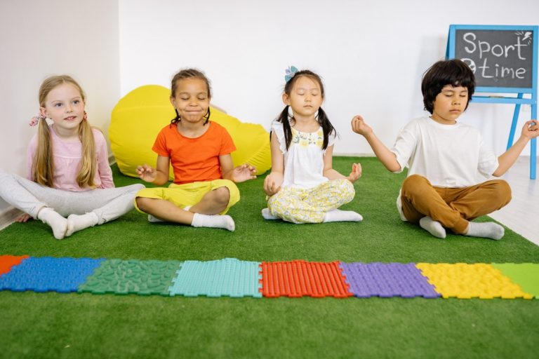 Yoga Is Helping Kids Cope with the Pandemic