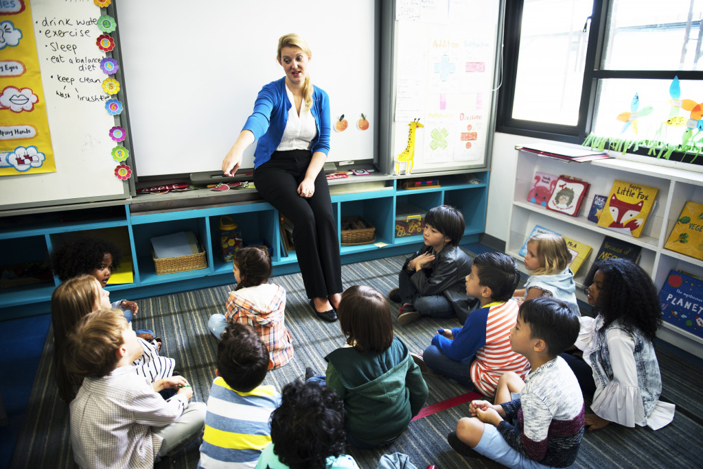 teaching children classroom